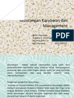 Kecurangan Karyawan Dan Management