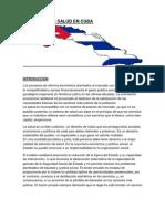 Sistema de Salud en Cuba-trabajo
