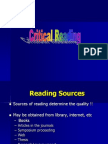 Critical Reading.ppt