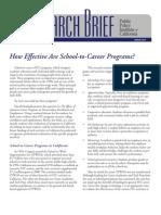 School to Career  path