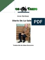 Kertesz, Imre - Diario de La Galera
