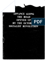 Advance Along Road Opened Up by the Great October Socialist Revolution