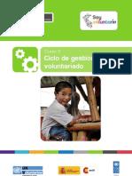 Curso 3 - Gestión del Ciclo de Voluntariado