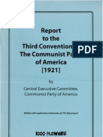 Report to Third Convention CPA 1921