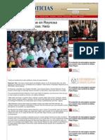 10-06-2013 Contribuiré para que en Reynosa existan familias felices