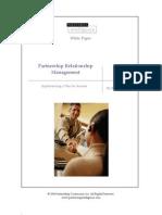 5.03 Partnership Relationship Management WP