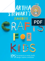 Pom-Pom Animals from Martha Stewart's Favorite Crafts for Kids