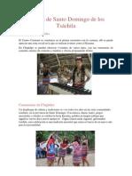 Cultura de Santo Domingo de los Tsáchila