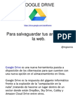 Tutorial Googledrive