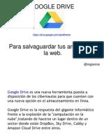 Tutorial Googledrive