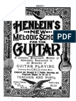 Melodic School for the Guitar (1901)