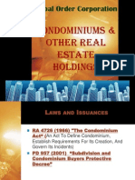 9 Condo & Other Real Estate Holdings