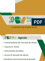 Conferencia Financiamiento a Traves de La Bolsa de Valores de El Salvador