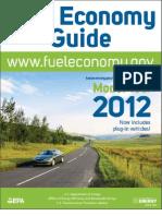 Fuel Economy Guide 2012