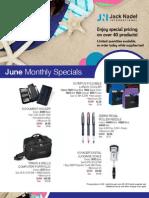 Jack Nadel Usd June Specials