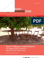 Modern Challenges to Traditional Justice