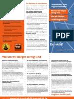 Die Wahrheit zum Flughafenausbau, Pocket-Guide, Juni 2013