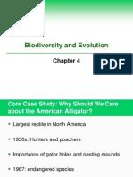Ch 4 Biodiversity Evolution