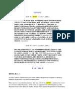 Sec of DENR v Yap (2008)
