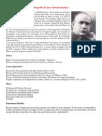 Biografía de José Antonio Encinas