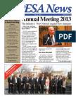 PESA News- Spring 2013