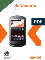 Huawei u8820 User Guide(v100r001 01,Es,Nii,Chile)