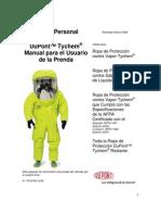 Manual Usuario Prendas DuPont Tychem