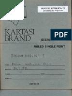 Bukusu Riddles - III