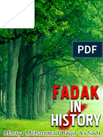 Fadak in History - Martyr Mohammad Baqir as Sadr - Xkp