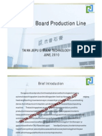 The Introduction of Gypsum Board Production Line