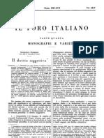 Il Diritto Soggettivo - Domenico Barbero