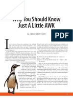 Why You Should Know Just A Little AWK