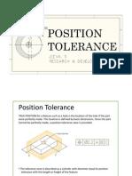 Position Tolerance
