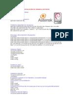 Instalaci¥n de Debian & Asterisk