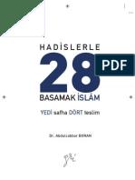 Hadislerle 28 Basamak Islam