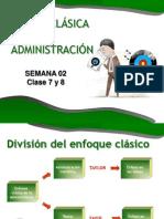 S3 Clase 5 y 6 Teoría Clásica