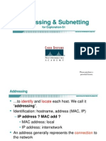 Addressing & Subnetting