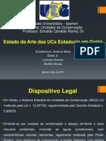 Estado da Arte das UCs Estaduais em Goiás.ppt