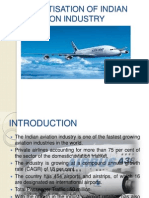 Privatisation in Indian Aviation