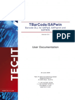 TBarCode9 SAPwin Manual En