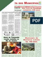 A Gazeta dos Municípios 24/04/2009