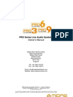 PRO 3-6-9 Owners Manual V1.12