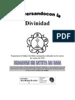 Sathya Sai Baba - Conversando con la Divinidad.doc