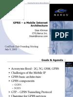 GPRS a Mobile Internet Architecture-CTDC