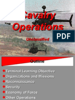 Cavalry Operations