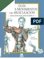 Guia de Los Movimientos de Musculacion Frederik-Delavier