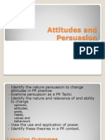 Atitude and Persuasion