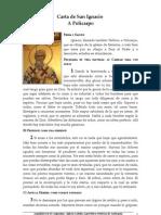 Carta de San Ignacio a Policarpo