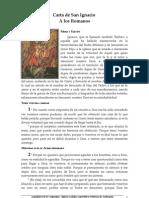 Carta de San Ignacio Romanos