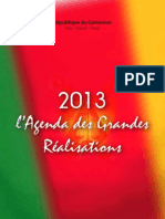 Agenda2013 Grandes Realisations